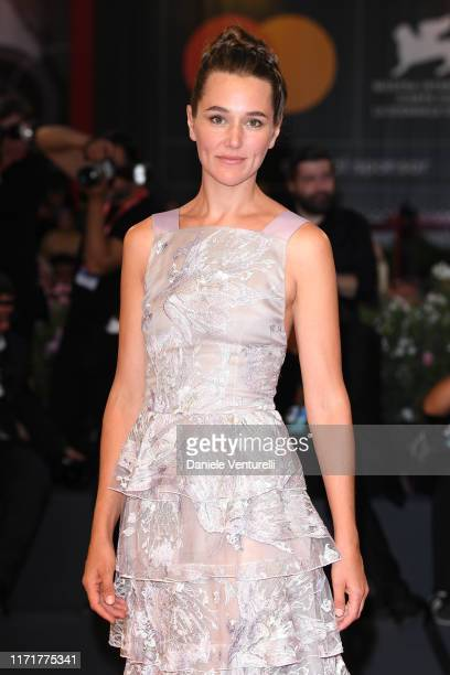 "Alissa Jung walks the red carpet ahead of the ""Martin Eden"" screening during the 76th Venice Film Festival at Sala Grande on September 02, 2019 in..."