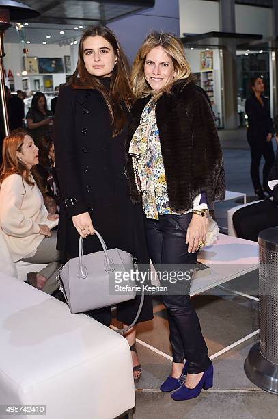 Alissa Narkowitz and Allison Berg attend LACMA And Farfetch Celebrate The Launch Of Wear LACMA 50th Anniversary Edition at LACMA on November 4 2015...