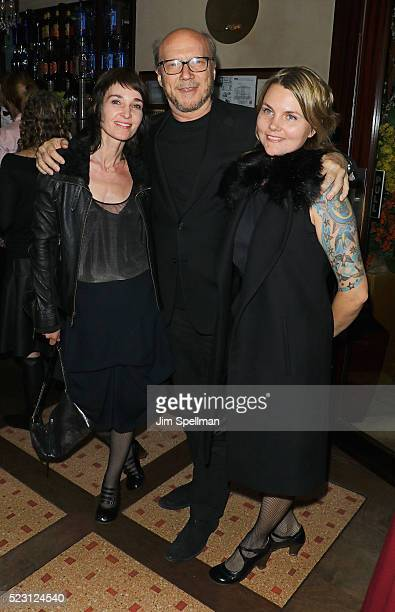 Alissa Sullivan Paul Haggis and Brynn Horrocks attend the after party for the screening of 'A Bigger Splash' hosted by Fox Searchlight Pictures with...