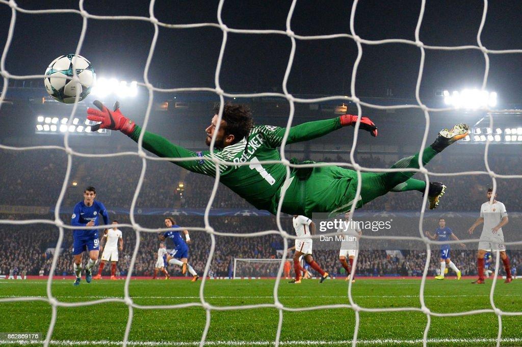 Chelsea FC v AS Roma - UEFA Champions League : ニュース写真