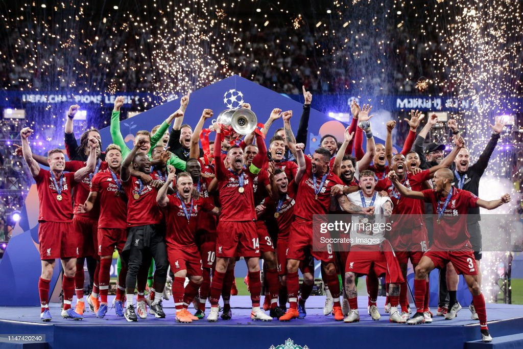 Tottenham Hotspur v Liverpool - UEFA Champions League : ニュース写真