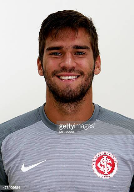 Alisson Becker of Sport Club Internacional poses during a portrait session on August 14 2014 in Porto AlegreBrazil