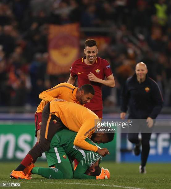 Champions League Roma Vs Barcelona: Bruno Becker Stock Photos And Pictures