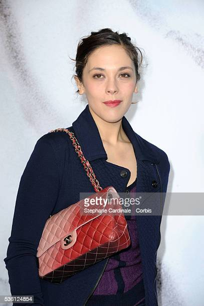 Alisson Paradis attends the Chanel Ready To Wear show as part of the Paris Fashion Week Fall/Winter 20102011