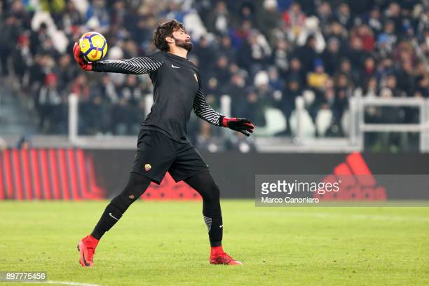 Alisson Ramses Becker of As Roma in action during the Serie A football match between Juventus Fc and As Roma Juventus Fc wins 10 over As Roma