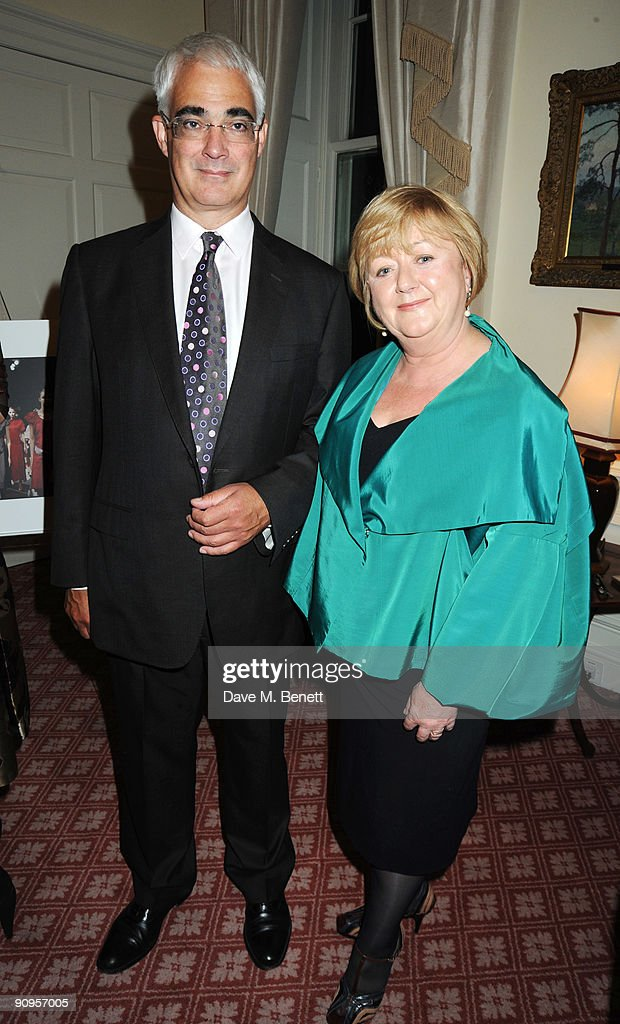 Alistair and Maggie Darling attend reception celebrating 25 years of British Fashion hosted by Sarah Brown and Maggie Darling, at No 10 Downing Street on September 18, 2009 in London, England.