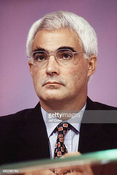 Alistair Darling MP Labour Party Conference 1999