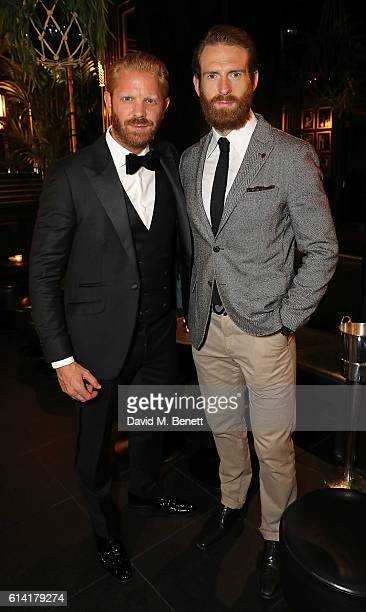 Alistair Guy and Craig McGinlay attend a private dinner in celebration of the Vestiaire Collective Men at Tramp on October 12 2016 in London England