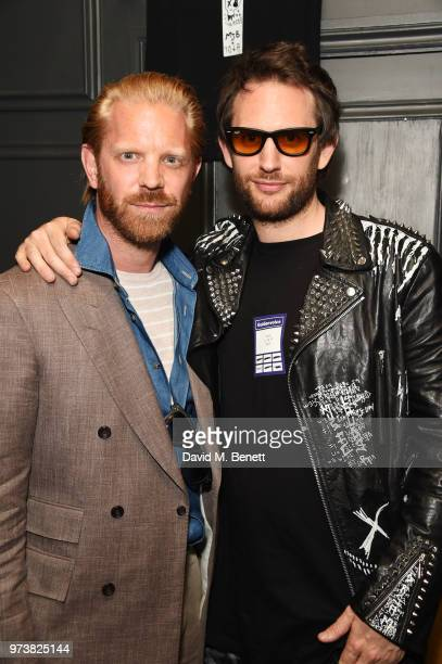 Alistair Guy and designer Marc Jacques Burton attend the MJB x YOTA fashion capsule party supported by Ciroc who have designed MJB x YOTA Limited...