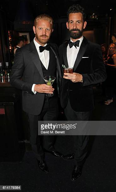 Alistair Guy and Fabrice Limon attend a private dinner in celebration of the Vestiaire Collective Men at Tramp on October 12 2016 in London England