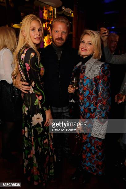 Alistair Guy and Mariya Dykalo join artworld power couple Simon and Michaela de Pury for Austin Lee Frieze preview and party at Maison Assouline on...