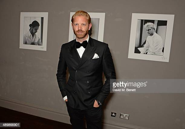 Alistair Guy attends a private celebratory dinner for Alistair Guy's exhibition 'White Shirts' at The Century Club on May 12 2014 in London England