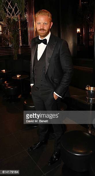 Alistair Guy attends a private dinner in celebration of the Vestiaire Collective Men at Tramp on October 12 2016 in London England