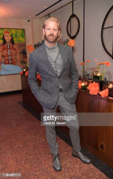 Alistair Guy attends Ella Canta's Day of the Dead celebration on October 30 2019 in London England