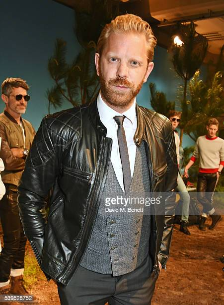 Alistair Guy attends the Belstaff presentation during The London Collections Men SS17 at QEII Centre on June 12 2016 in London England