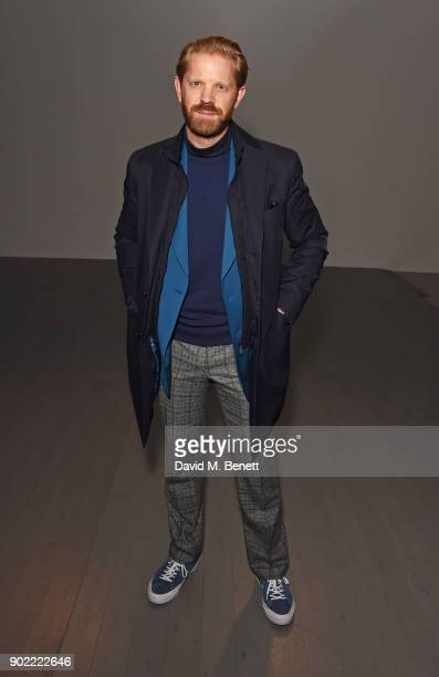 Alistair Guy attends the Christopher Raeburn show during London Fashion Week Men's January 2018 at BFC Show Space on January 7 2018 in London England