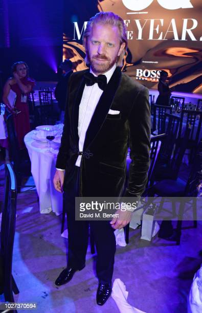 Alistair Guy attends the GQ Men of the Year Awards 2018 in association with HUGO BOSS at Tate Modern on September 5 2018 in London England