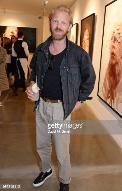 Alistair Guy attends the Grand Opening of JD Malat Gallery in Mayfair on June 5 2018 in London England