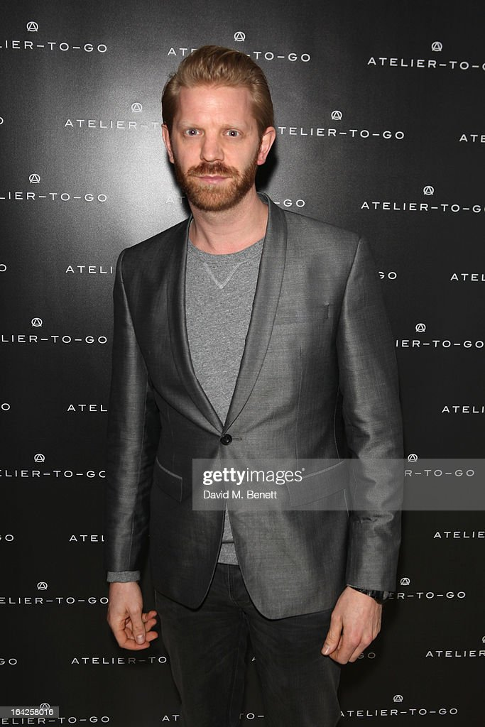 Alistair Guy attends the launch party for Atelier-To-Go at Agua Spa, The Sanderson Hotel on March 21, 2013 in London, England. Atelier-To-Go is a brand-new fashion platform that offers a carefully-curated edit of contemporary labels, with a mix of luxe essentials & must-have trends, to offer a complete, covetable wardrobe.