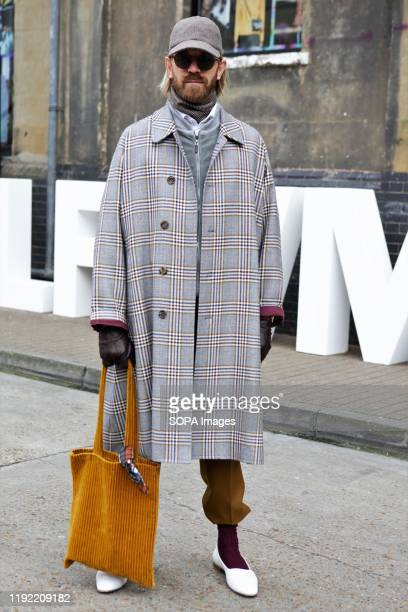 Alistair Guy attends the London Fashion Week Men's Day two Street Style.