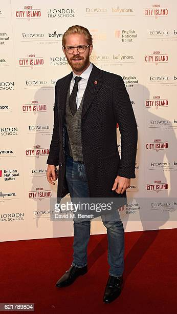Alistair Guy attends the opening of London City Island the capital's new cultural neighbourhood on November 8 2016 in London United Kingdom