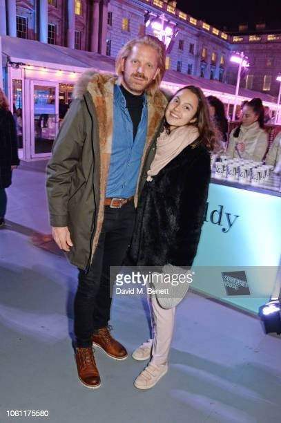 Alistair Guy attends the opening party of Skate at Somerset House with Fortnum Mason on November 13 2018 in London England London's favourite festive...
