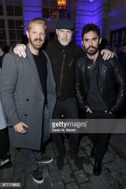 Alistair Guy JeanDavid Malat and JeanBernard FernandezVersini attend a Christmas Party at Rosewood London to celebrate the launch of Rosewood Mini...