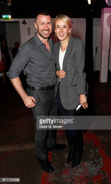 Alistair McCallum and Holly Shackleton attend the Fashion East and Bistrotheque private dinner celebrating the close of London Fashion Week Men's at...