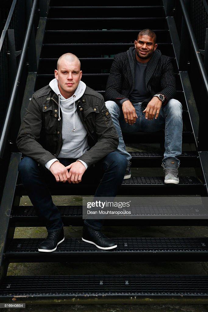 Alistair Overeem & Stefan Struve Photo Call