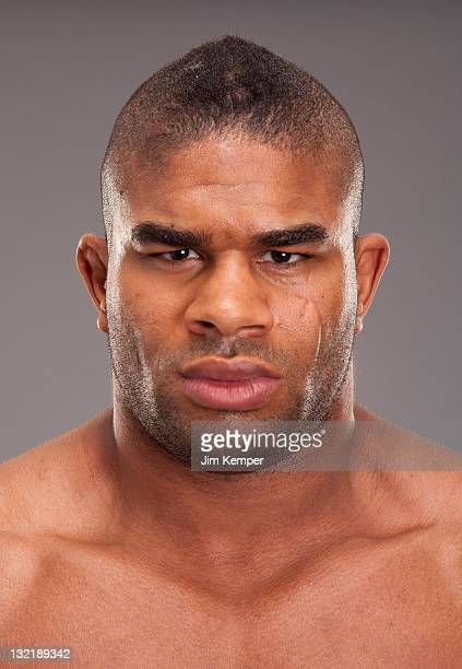 Alistair Overeem poses for a portrait on November 9 2011 in Los Angeles California