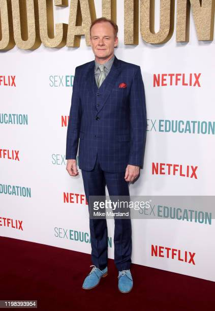 Alistair Petrie attends the Sex Education Season 2 World Premiere at Genesis Cinema on January 08 2020 in London England