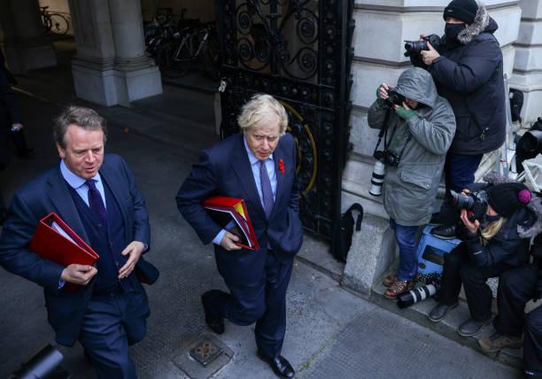 GBR: U.K. Cabinet as Rebel Vote Threatens Undermining Virus Strategy