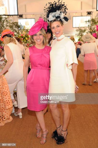 Alisyn Camerota and Nyssa Kourakos attend 36th Annual Frederick Law Olmsted Awards Luncheon Central Park Conservancy at The Conservatory Garden in...