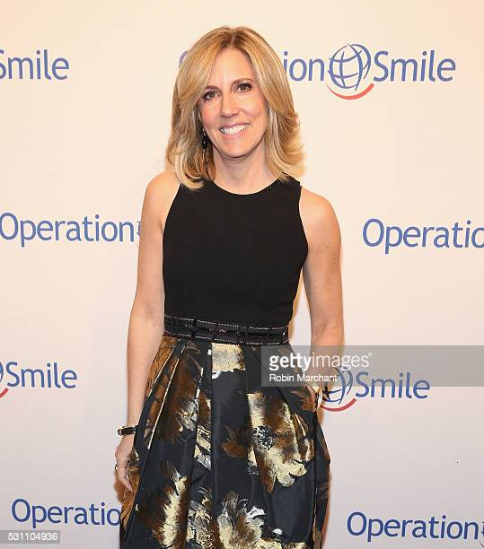 Alisyn Camerota attends 2016 Operation Smile Gala at Cipriani 42nd Street on May 12 2016 in New York City
