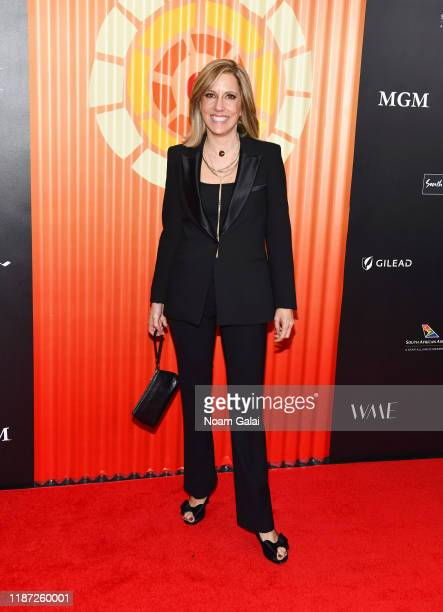 Alisyn Camerota attends Charlize Theron's Africa Outreach Project Fundraiser at The Africa Center on November 12 2019 in New York City