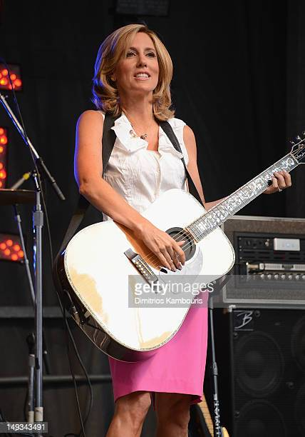 Alisyn Camerota attends FOX Friends All American Concert Series at FOX Studios on July 27 2012 in New York City