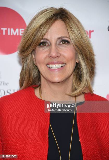 Alisyn Camerota attends Sally Kohn Celebrates The Launch Of Her New Book The Opposite Of Hate at Guggenheim Museum on April 6 2018 in New York City