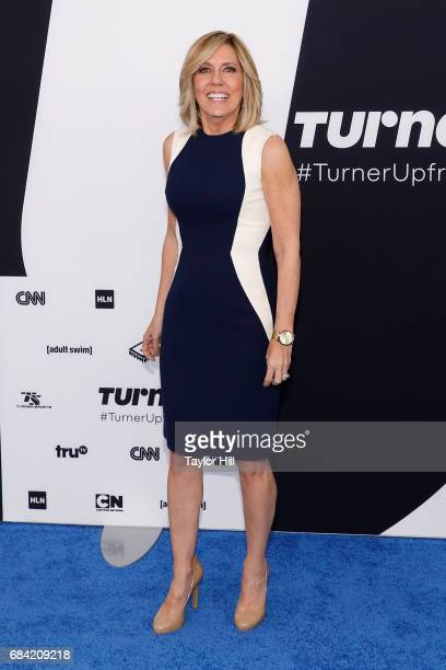 Alisyn Camerota attends the 2017 Turner Upfront at Madison Square Garden on May 17 2017 in New York City