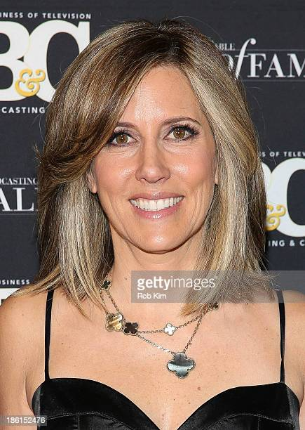 Alisyn Camerota attends the Broadcasting And Cable 23rd Annual Hall Of Fame Awards dinner at The Waldorf=Astoria on October 28 2013 in New York City