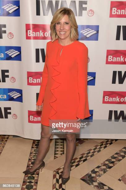 Alisyn Camerota attends The International Women's Media Foundation's 28th Annual Courage In Journalism Awards Ceremony Arrivals at Cipriani 42nd...