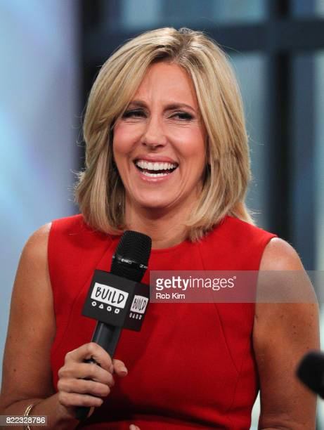 Alisyn Camerota discusses her new book Amanda Wakes Up at Build Studio on July 25 2017 in New York City