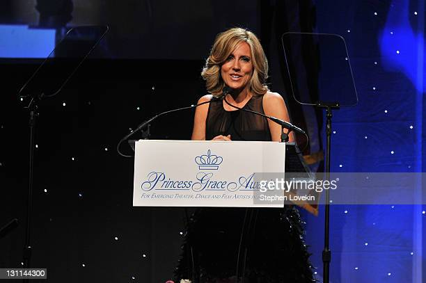 Alisyn Camerota speaks at the Princess Grace Awards Gala at Cipriani 42nd Street on November 1 2011 in New York City