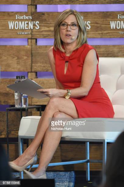 Alisyn Camerota speaks onstage during The Solvers Turning The Moment Into A Movement at the 2018 Forbes Women's Summit at Pier Sixty at Chelsea Piers...