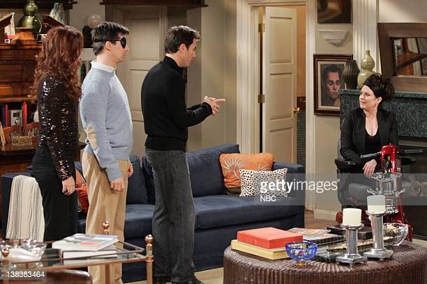 WILL GRACE Alive and Schticking Episode 1 Pictured Debra Messing as Grace Adler Sean Hayes as Jack McFarland Eric McCormack as Will Truman Megan...