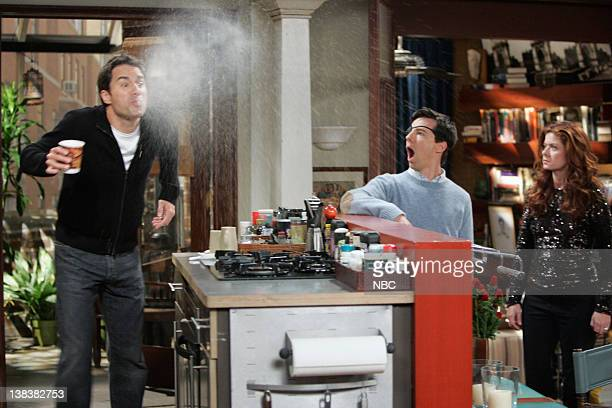 WILL GRACE 'Alive and Schticking' Episode 1 Pictured Eric McCormack as Will Truman Sean Hayes as Jack McFarland Debra Messing as Grace Adler