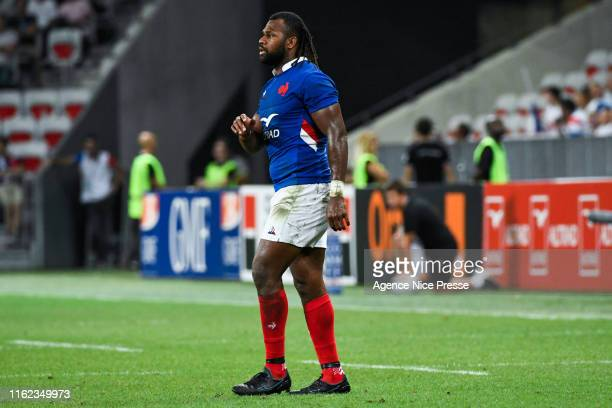 Alivereti Raka of France during the test match between France and Scotland on August 17 2019 in Nice France
