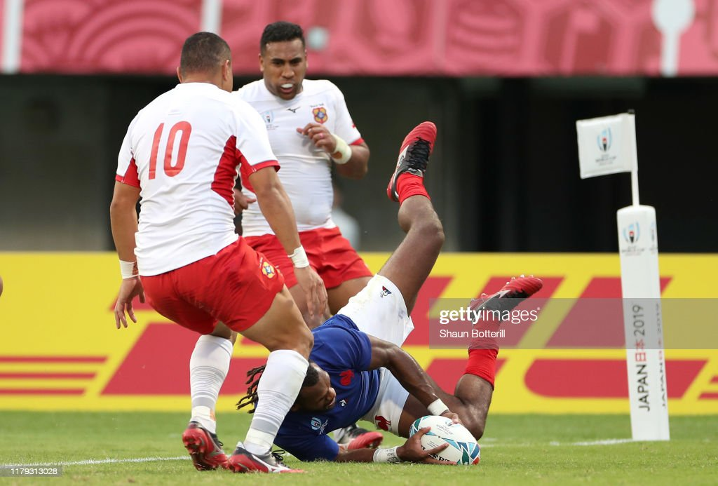 France v Tonga - Rugby World Cup 2019: Group C : News Photo