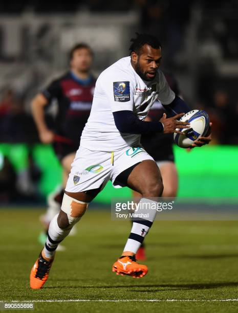 Aliveretti Raka of ASM Clermont Auvergne during the European Rugby Champions Cup match between Saracens and ASM Clermont Auvergne at Allianz Park on...