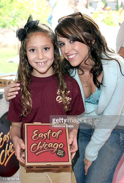 Alivia Granneman and Lacey Chabert at East of Chicago