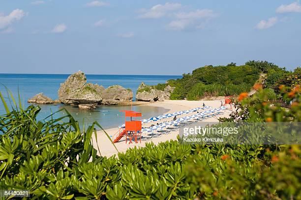 alivila beach - kazuko kimizuka stockfoto's en -beelden